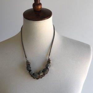 Jewelry - 3/$25 SALE Rock Geode Statement Necklace